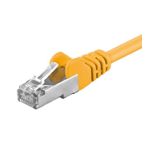 Afbeelding van CAT 5e Netzwerkkabel F/UTP - 10 Meter - Gelb