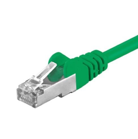 Afbeelding van CAT 5e Netzwerkkabel F/UTP - 10 Meter - Grün