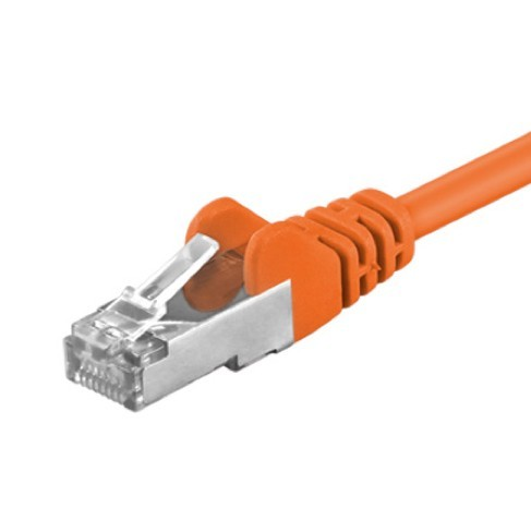 Afbeelding van CAT 5e Netzwerkkabel F/UTP - 10 Meter - Orange