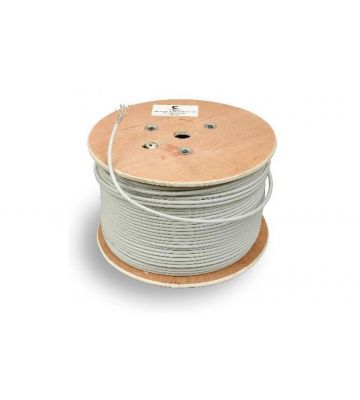 CAT 6a Belden Kabel - 4x2xAWG 23/1 - Starrleiter - 100% Kupfer - FTP - 500 Meter - Grau