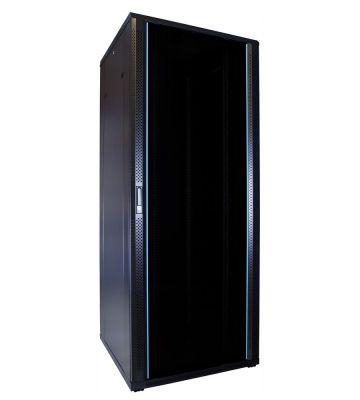 "42 HE 19"" Serverschrank, mit Glastür (BxTxH) 800 x 800 x 2000mm"