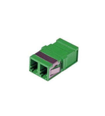 Singlemode Keystone Kupplung LC-LC duplex grün