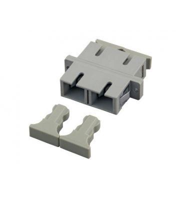 Multimode Kupplung SC-SC duplex grau