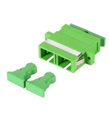 Singlemode Kupplung SC-SC duplex grün