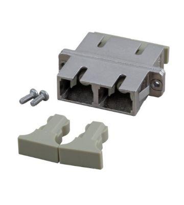 Singlemode APC Kupplung SC-SC duplex mit Metall-Gehäuse