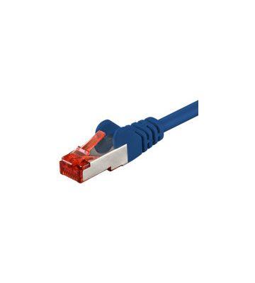 CAT 6 Netzwerkkabel LSOH - S/FTP - 20 Meter - Blau