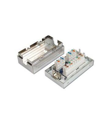 Kabelverbinder CAT 5e – LSA Anschlussbox – geschirmt