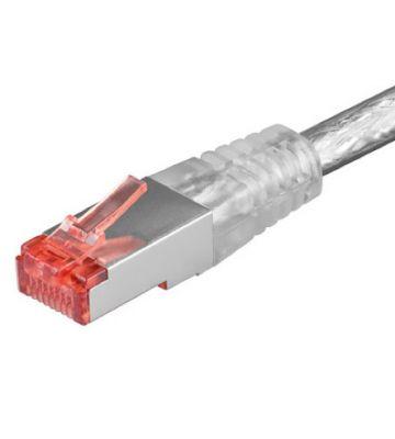 CAT 6 Netzwerkkabel LSOH - S/FTP - 25 Meter - Transparent