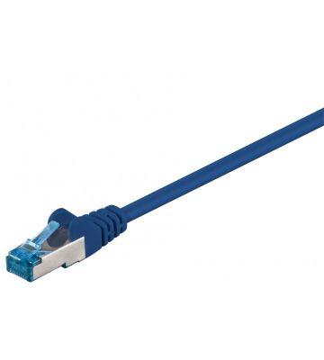 CAT 6a Netzwerkkabel LSOH - S/FTP - 50 Meter - Blau