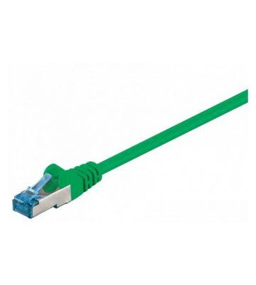 CAT 6a Netzwerkkabel LSOH - S/FTP - 30 Meter - Grün