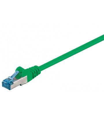 CAT 6a Netzwerkkabel LSOH - S/FTP - 1 Meter - Grün