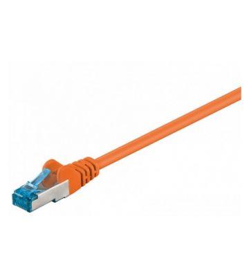 CAT 6a Netzwerkkabel LSOH - S/FTP - 50 Meter - Orange