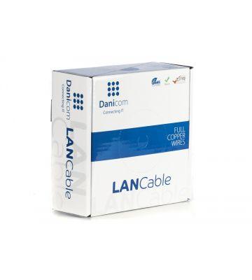 DANICOM CAT5E FTP 50m - flexibel - PVC (Fca)