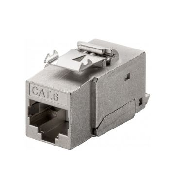 CAT6 STP Keystone Netzwerkstecker - Toolless