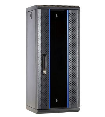 "15 HE, 10"" Serverschrank, mit Glastür, (BxTxH)  312x310x752mm"
