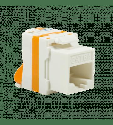 CAT6a UTP Keystone Netzwerkstecker - Toolless Twist