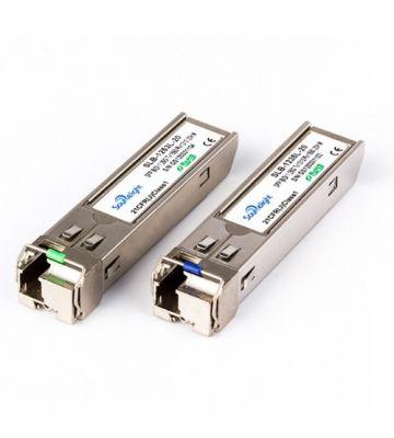 SFP-Transceiver-Modul LC singlemode TX1310/RX1490nm 40 Kilometer
