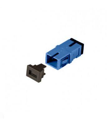 Singlemode Keystone Kupplung SC-SC simplex blau