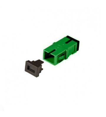 Singlemode Keystone Kupplung SC-SC simplex grün