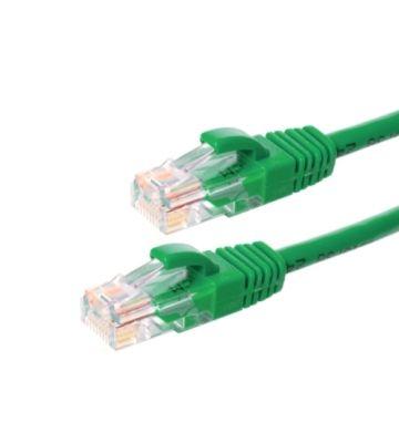 CAT6 Netzwerkkabel, U/UTP, 5 meter, Grün, 100% Kupfer