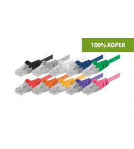 Cat 5e Netzwerkkabel - U/UTP - 100% Kupfer